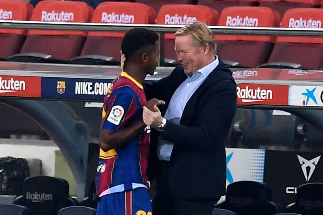 Ronald Koeman frustration Martinez was about to recall Ansu Fati